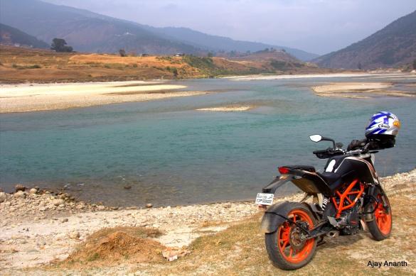 Punaka to Wangdue Phodrang - KTM Duke 390