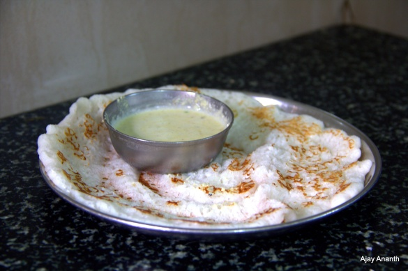 Khali Dosa at Sri Laxmi Bhavan Tiffin Room Chitradurga
